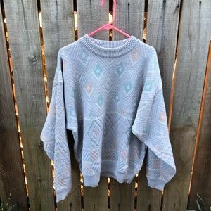 Vintage 90s Gray Men's Sweater